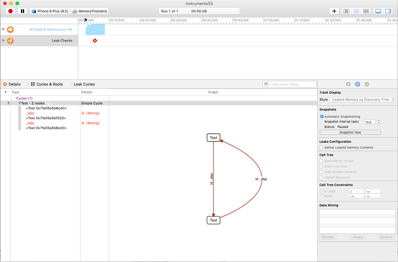 xcode_leak_instrument_cycles_and_roots_view